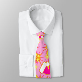Pink - Santa's cap Tie