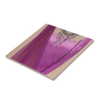 Pink Sari Tile