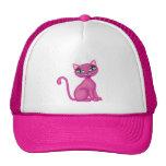 Pink Sassy Kitty Mesh Hats