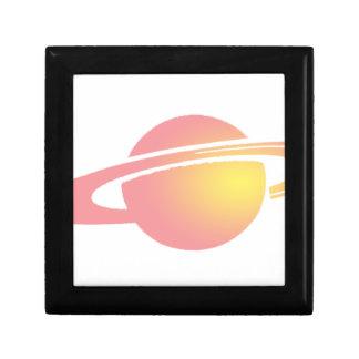 Pink Saturn Gift Box