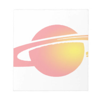 Pink Saturn Notepad