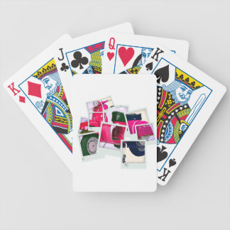 Pink Scooter Bicycle Playing Cards