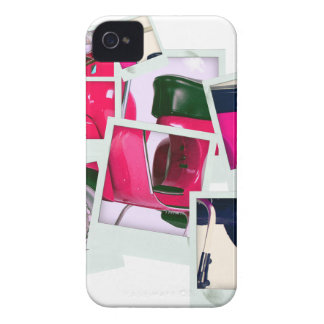 Pink Scooter iPhone 4 Cover