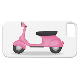 Pink scooter phone case