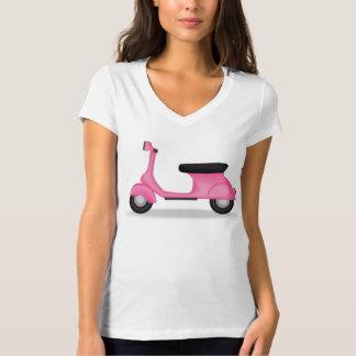 Pink Scooter tee shirt