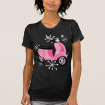 Pink Scooter Tee Shirts