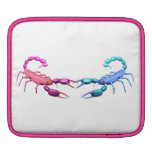 Pink scorpions iPad sleeve by Valxart