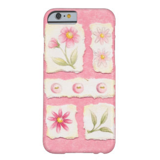 Pink Scraps Barely There iPhone 6 Case