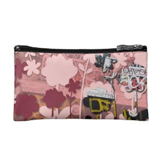 Pink Scratch Makeup bag