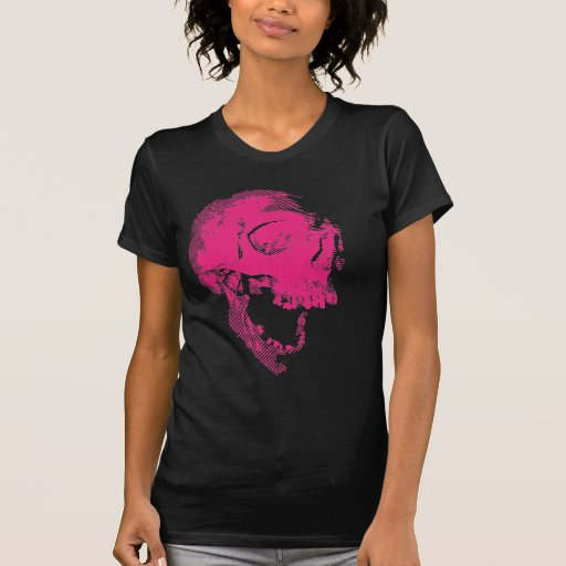 pink scull tshirts