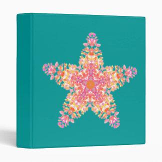Pink Sea star, binder