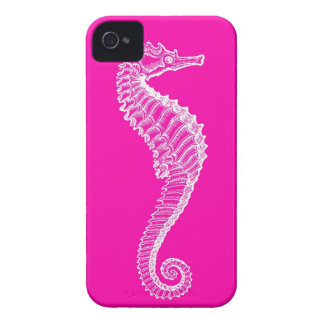 Pink Seahorse iPhone Case iPhone 4 Cover