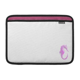 Pink Seahorse MacBook Air Sleeve