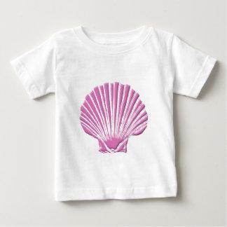 Pink Seashell Baby T-Shirt