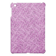 pink sequin effect  cover for the iPad mini