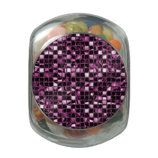 Pink Sequin Effect Jelly Belly Candy Jar