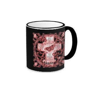 Pink Serenity Cross Mugs