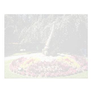 Pink Shady retreat, Public Gardens, Coutance, Fran Letterhead