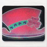 Pink Shamrock Mousepad