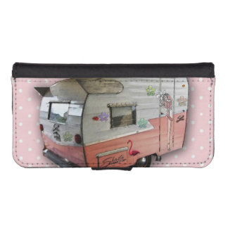 Pink Shasta Trailer Cell Phone Case