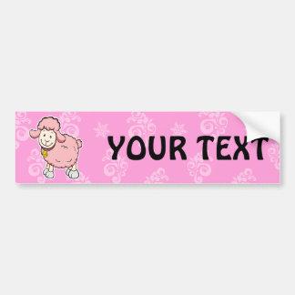 Pink Sheep Bumper sticker
