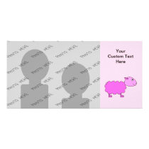 Pink Sheep Card