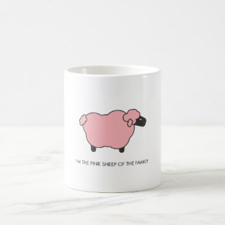 Pink Sheep Coffee Mug