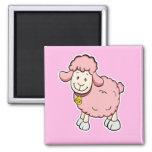 Pink Sheep Magnet