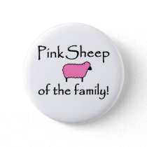 Pink Sheep of the Family Button