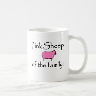 Pink Sheep of the Family Coffee Mugs