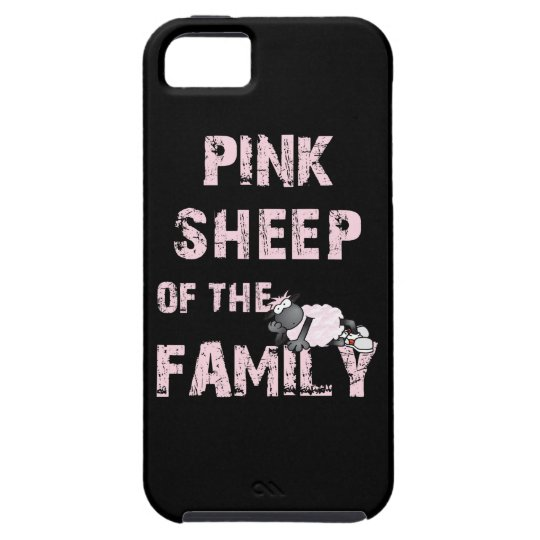 Pink Sheep of the Family iPhone SE/5/5s Case