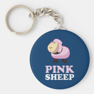 Pink Sheep of the Family Keychain