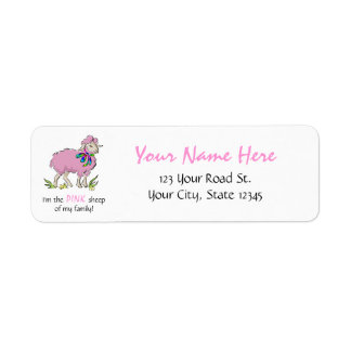 Pink Sheep of the Family Label