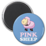 Pink Sheep of the Family Refrigerator Magnets