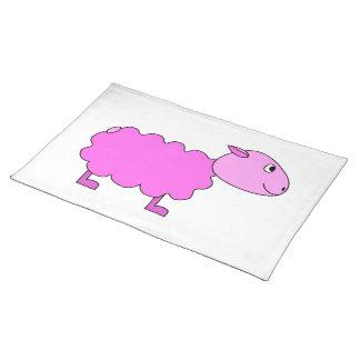 Pink Sheep. Placemat