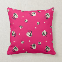 "Pink Sheep Throw Pillow 20"" x 20"""