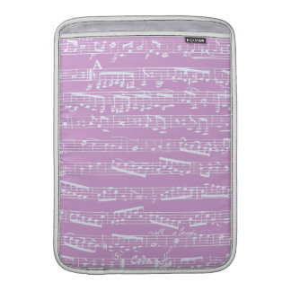Pink Sheet Music MacBook Air Sleeve