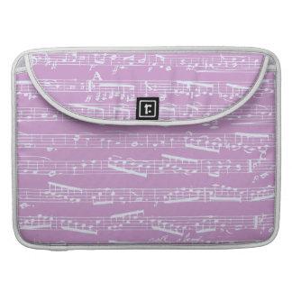 Pink Sheet Music MacBook Pro Sleeve