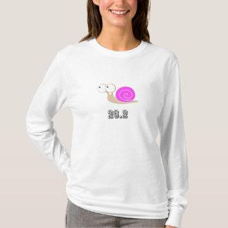 Pink shelled snail 26.2 T-Shirt