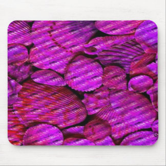 pink shells mouse pad