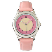 Pink Sherbet and Peach Watch