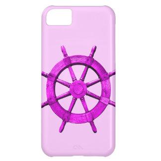 Pink Ships Wheel iPhone 5C Case