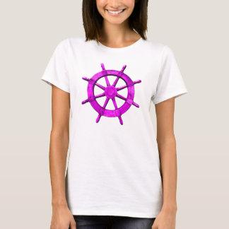 Pink Ships Wheel T-Shirt