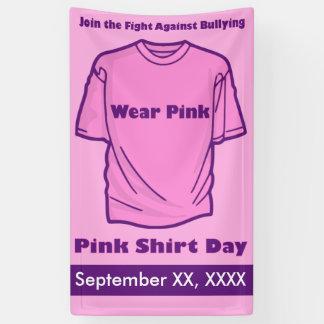 Pink Shirt Day Banner