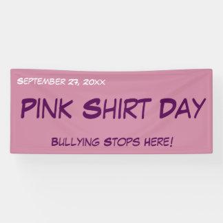 Pink Shirt Day Banner - Customizable