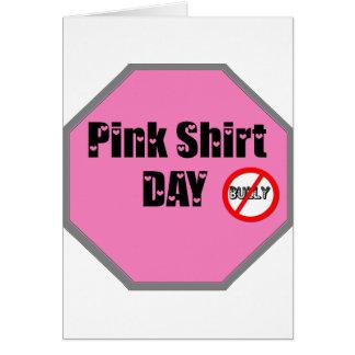 Pink Shirt Day Card