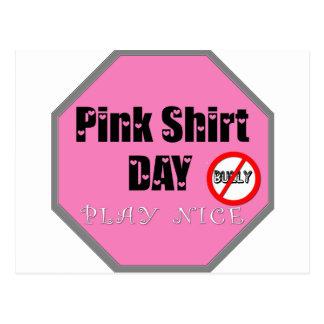 PINK SHIRT DAY POSTCARD