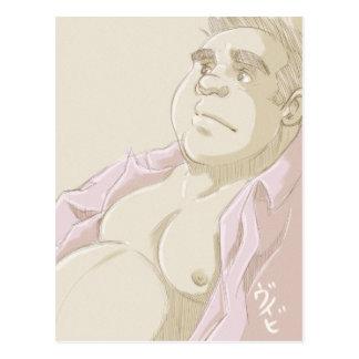 Pink Shirt Postcard