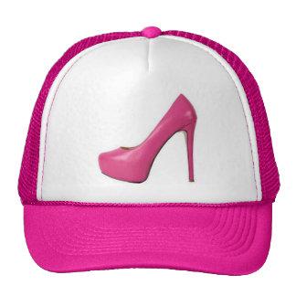 PINK SHOE TRUCKER HAT