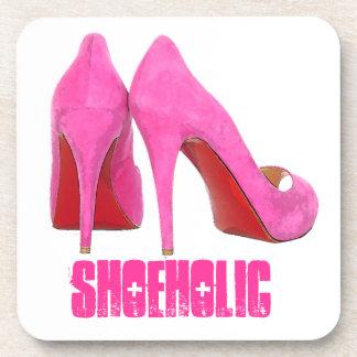 Pink Shoeholic Coaster